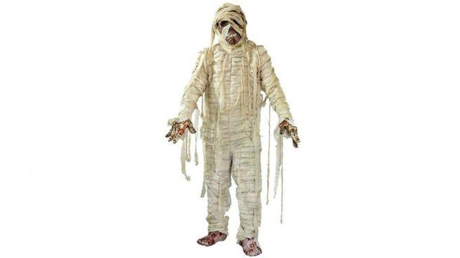 disfraz de momia para Halloween