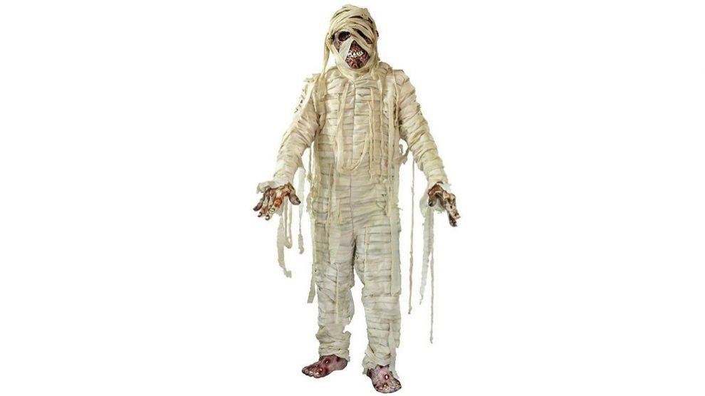 Disfrazarte de momia es perfecto para Halloween