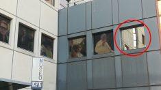 El retrato de Rajoy ya no aparece en el frontispicio del museo de la agencia EFE. (Foto: OKDIARIO)
