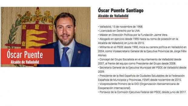 Otro currículum 'fake': Óscar Puente presume de un cargo «internacional» que sólo es «intermunicipal»