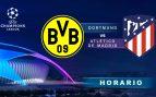 Borussia Dortmund – Atlético de Madrid: hora y dónde ver el partido de la Champions League
