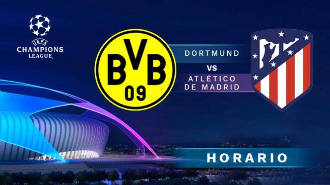 Borussia Dortmund hace que Atlético viva una pesadilla en Champions