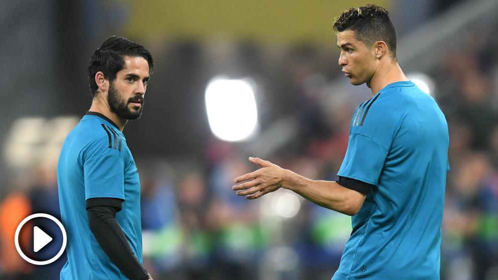 Declaraciones de Isco Alarcón en rueda de prensa al ser cuestionado por la ausencia de Cristiano Ronaldo