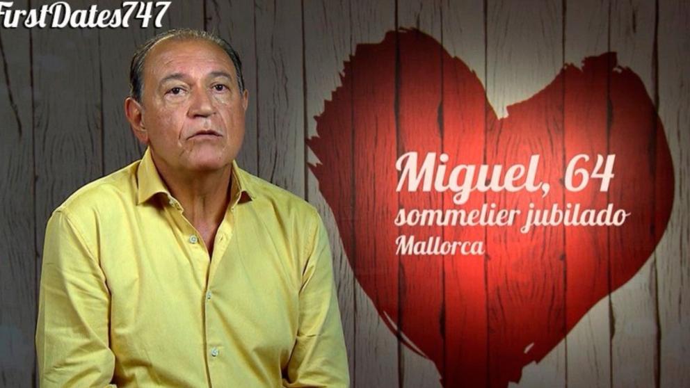 Miguel ha ido a 'First Dates' por un buen motivo.
