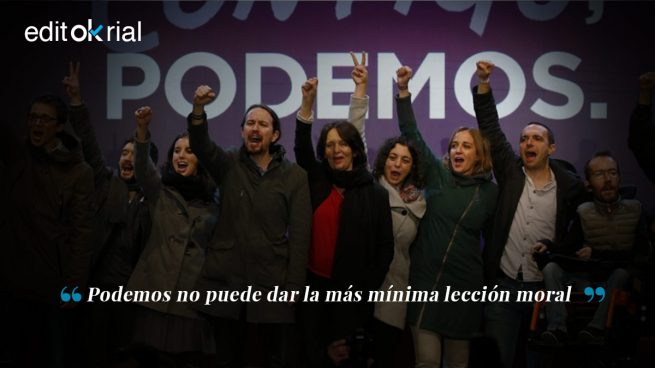 Pederastas y ladrones en Podemos