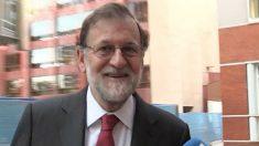 Mariano Rajoy en su incorporación al registro mercantil de Madrid