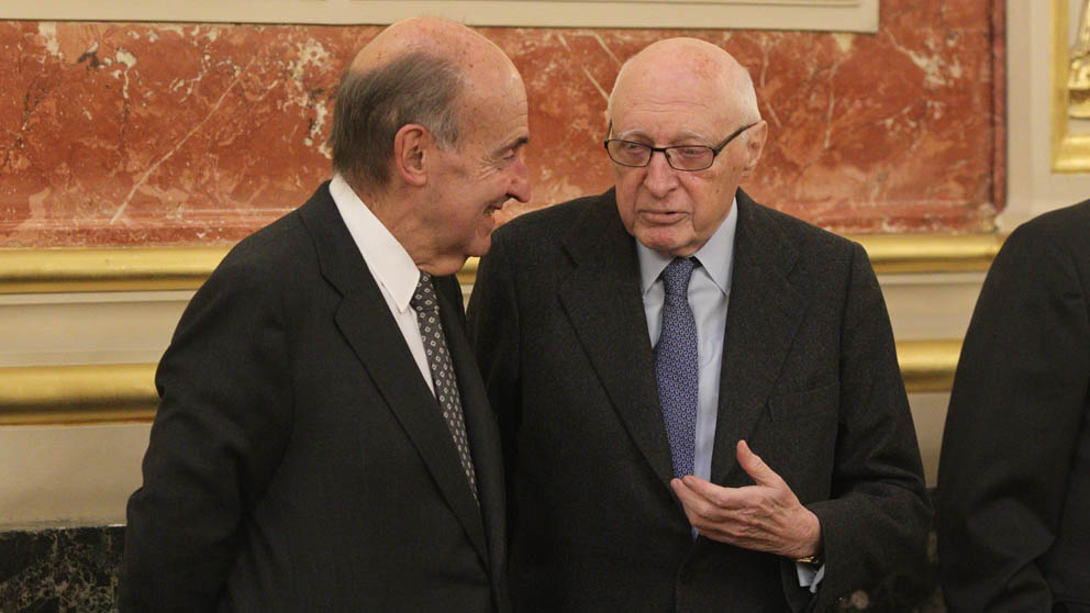 Miquel Rosca y José Pedro Pérez-Llorca (Foto: EP)