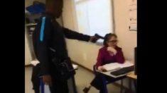 Verdadero horror alumno de 16 años apunta con una pistola a su profesora