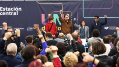 Acto de cierre de la universidad de Podemos. (Foto. Podemos)