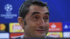 Valverde analiza el partido ante el Inter. (AFP)