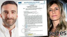Begoña Gómez, la mujer de Sánchez, junto al Secretario de Estado de Avance Digital