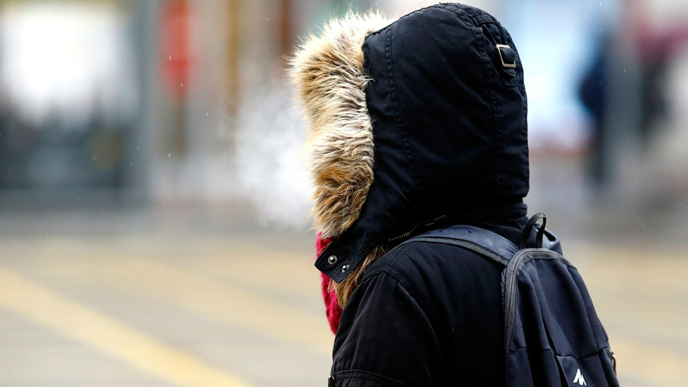 El frío vuelve a España. Foto: Europa Press