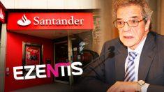 La Sicav de Alierta y Banco Santander elevan su peso en Ezentis