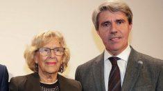 Manuela Carmena y Ángel Garrido. (Foto. Madrid)
