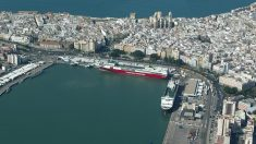 Muelle de Cádiz.