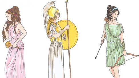 La mujer en la antigua Grecia.