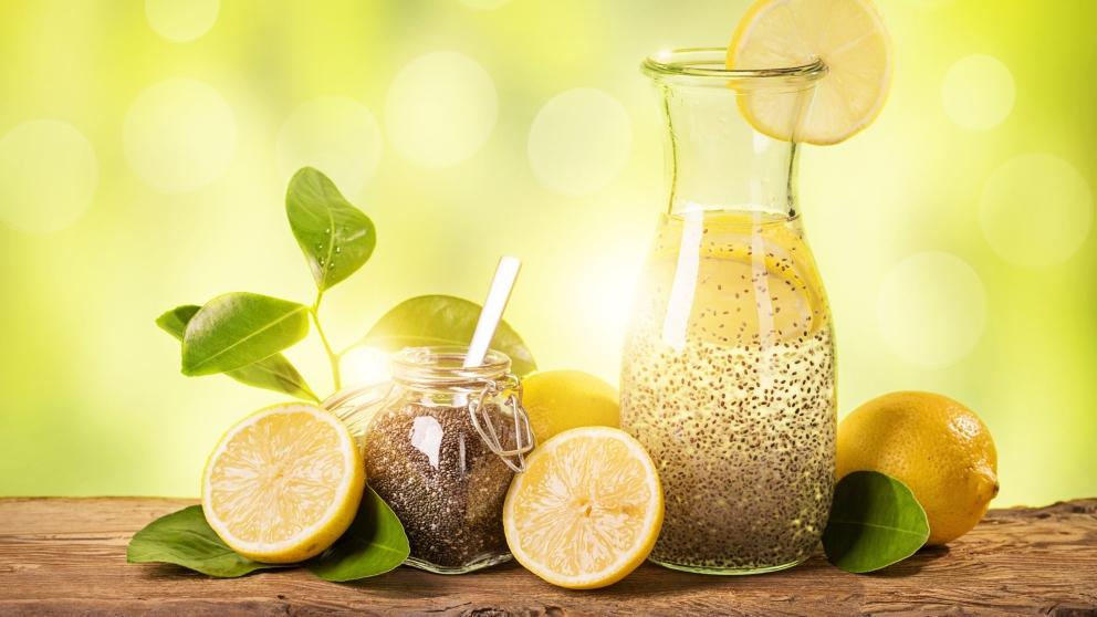 Receta De Agua De Limón Con Semillas De Chía