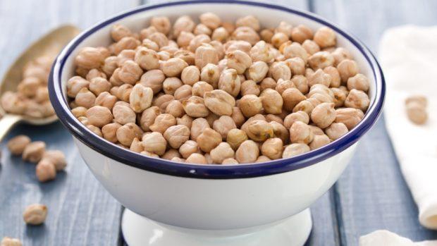 Receta de Garbanzos con grelos y chorizo