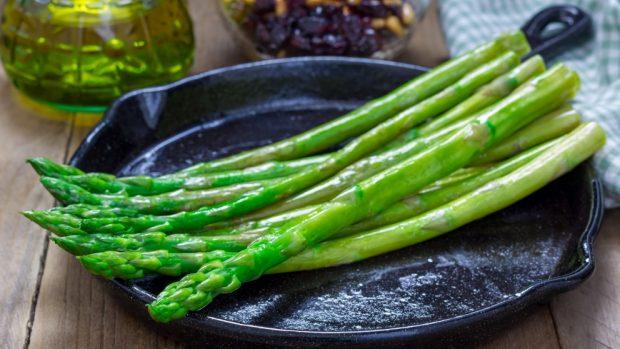 Ham and asparagus cake recipe
