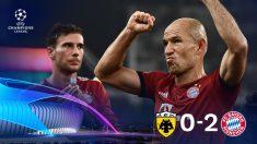 Champions League 2018-2019: AEK – Bayern | Partido de fútbol hoy, en directo.