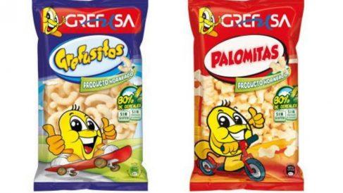 Retirados del mercado varios lotes de palomitas y gusanitos GREFUSA