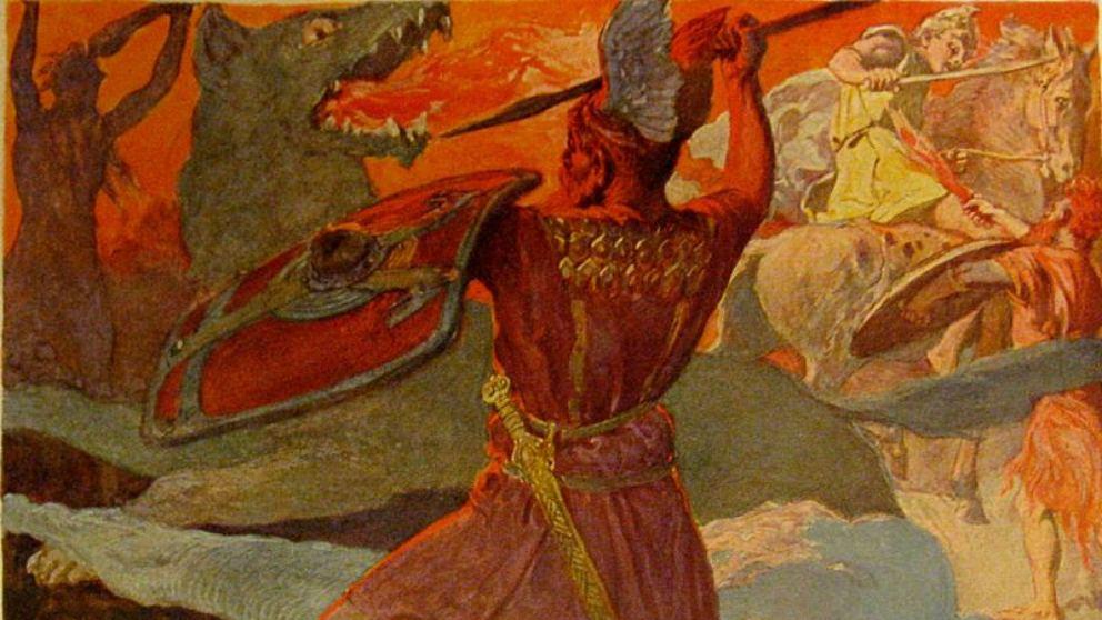 Así fue el dios Odín