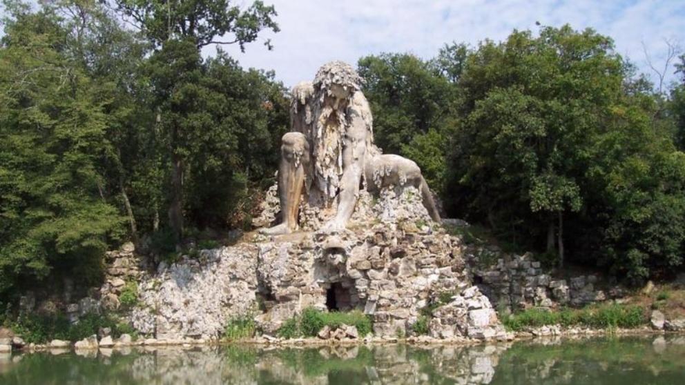 El Coloso de los Apeninos, una visita recomendable si estás en Florencia.