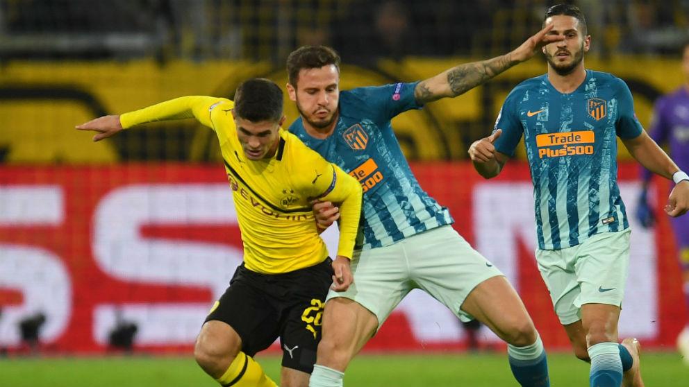 Champions League 2018: Borussia Dortmund -Atlético de Madrid | Partido de fútbol hoy, en directo.