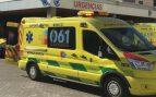 Una ambulancia de Emergencias
