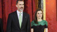 El Rey Felipe VI y la Reina Letizia.
