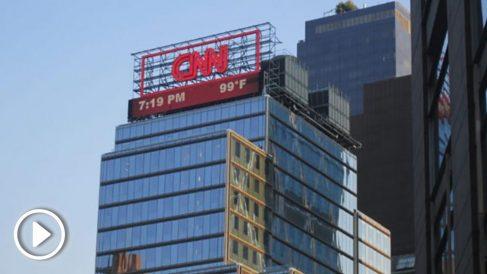 Oficinas de la CNN en Nueva York