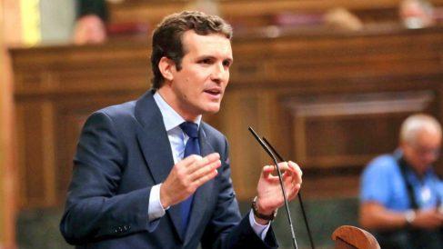 Pablo Casado en el Congreso.