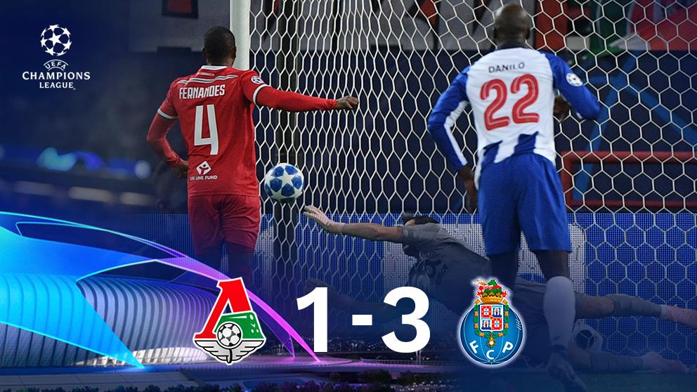 Casillas paró un penalti en la victoria del Oporto ante el Lokomotiv.