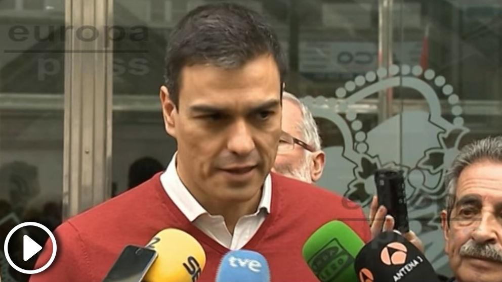 Pedro Sánchez en 2016: «Rajoy es el 'Red Bull' de los independentistas porque les da alas»