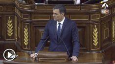 Sánchez exige hasta 3 veces a Casado que retire sus afirmaciones sobre él en el Congreso