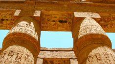 El Templo de Luxor es de una gran belleza.