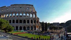 La Venatio tenía en el Coliseo de Roma uno de sus escenarios habituales.