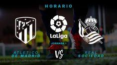Liga Santander 2018-19: Atlético – Real Sociedad | Horario del partido de fútbol de la Liga Santander.