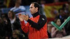 Albert Costa, en su etapa de capitán de Copa Davis. (Getty)