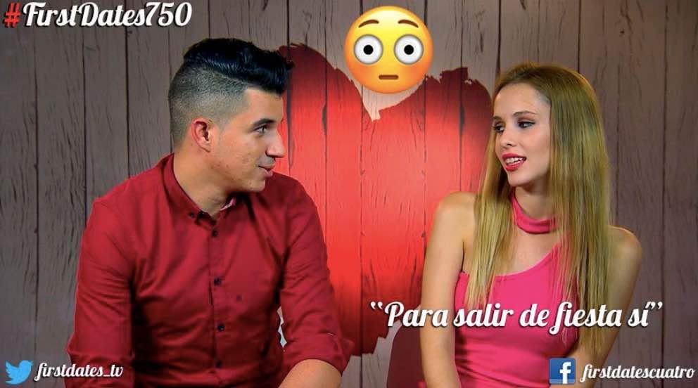 Lidia y Eduardo no repiten en 'First Dates' (Foto: Twitter)