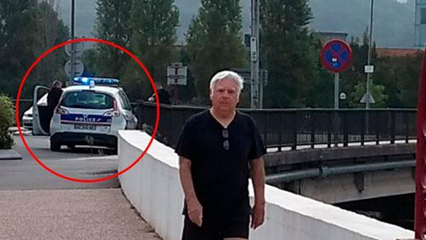 La policía francesa deposita decenas de ilegales en la frontera de Irún en furgonetas camufladas