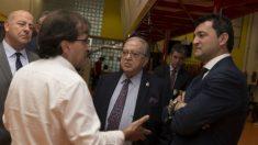 El presidente de la Fundación A.M.A., Diego Murillo, visita el Proyecto Hydro Physio (Foto: A.M.A.)