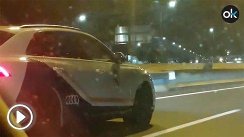 El nuevo Audi Q8 personalizado con los colores y el escudo del Real Madrid.