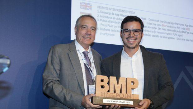 El BMP Proptech Congress entrega el premio a la Mejor Startup a Brickblock.io.