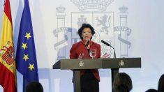Isabel Celaá, portavoz del Gobierno en una imagen de archivo (EFE).