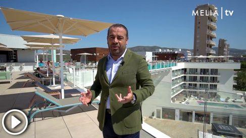 Gabriel Escarrer, Meliá Hoteles