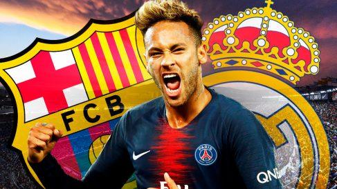 Neymar estará atento a todo lo que suceda en el Clásico.