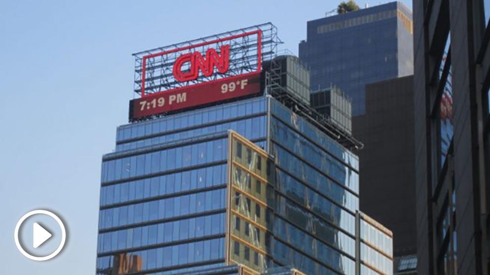 Oficinas de la CNN en Nueva York donde se recibió uno de los paquetes.