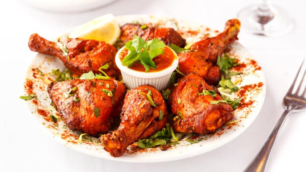 Receta de pollo tandoori