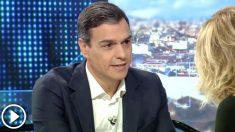 Pedro Sánchez defendió que sí que hubo rebelión semanas antes al referéndum ilegal del 1-O